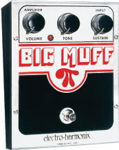 Electro Harmonix Big Muff Distortion Sustain Guitar FX Pedal Stomp Box
